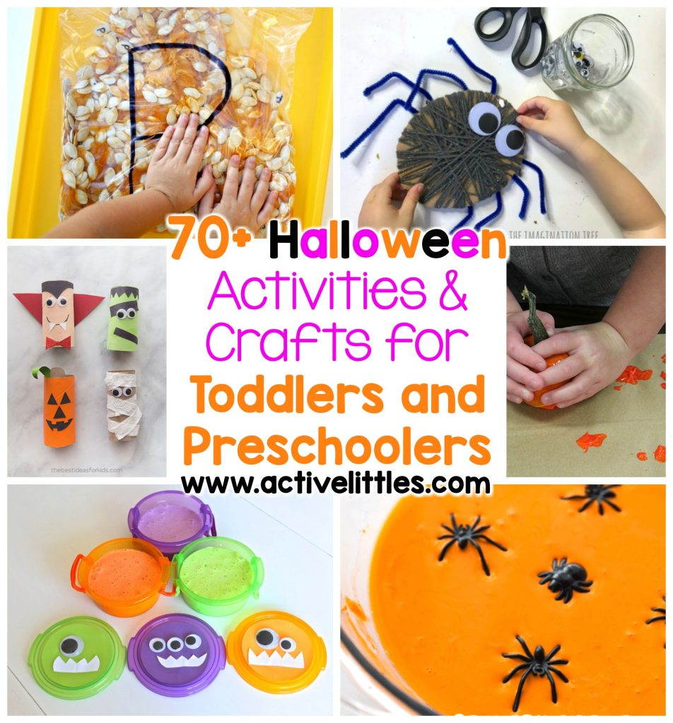 halloween activities for toddlers printables