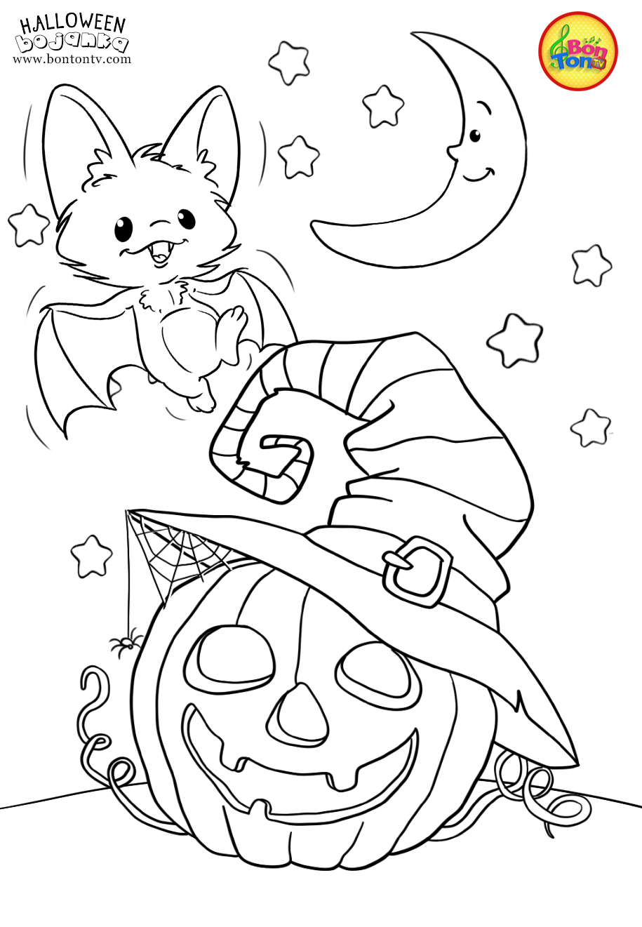 halloween coloring pictures