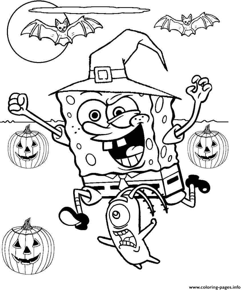 halloween coloring sheets to print