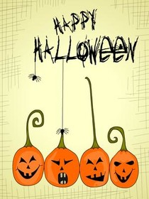 free halloween cards to print