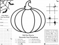 Halloween Printable Activity Pages