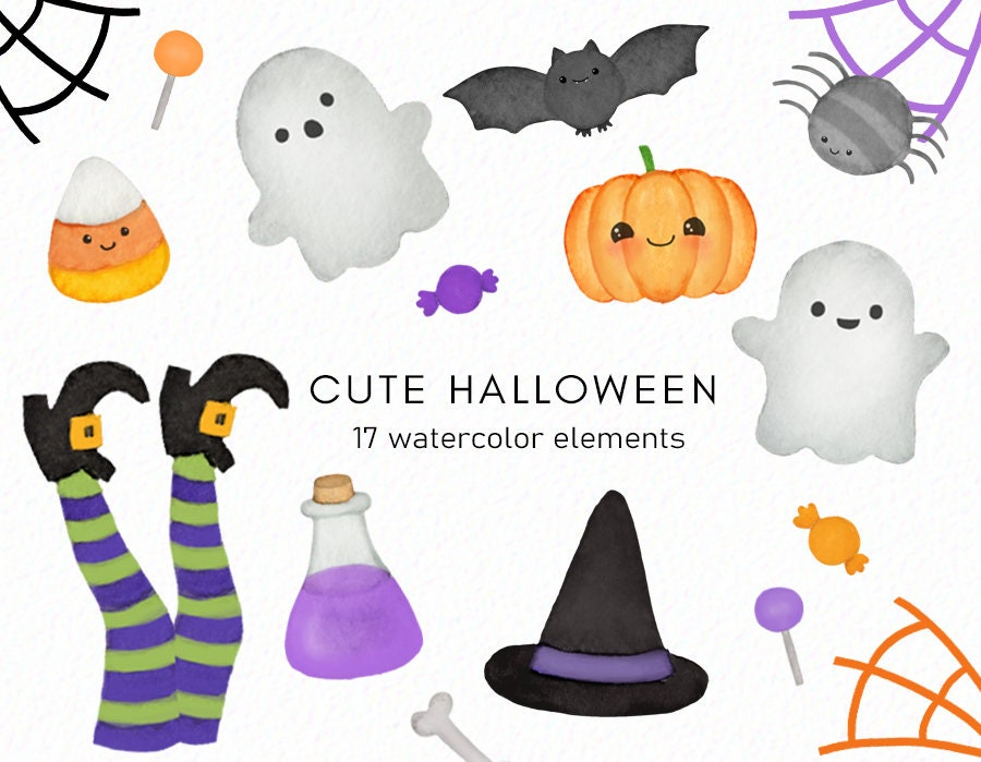 spooky clipart